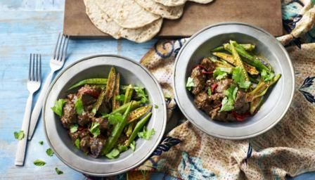Mangsho fita shinni (beef curry) recipe