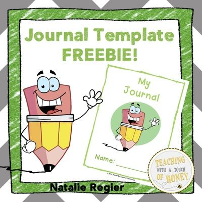 Journal+Template+FREEBIE!+from+Teaching+With+a+Touch+of+Honey+on+TeachersNotebook.com+-++(7+pages)++-+Create+journals+for+your+students!