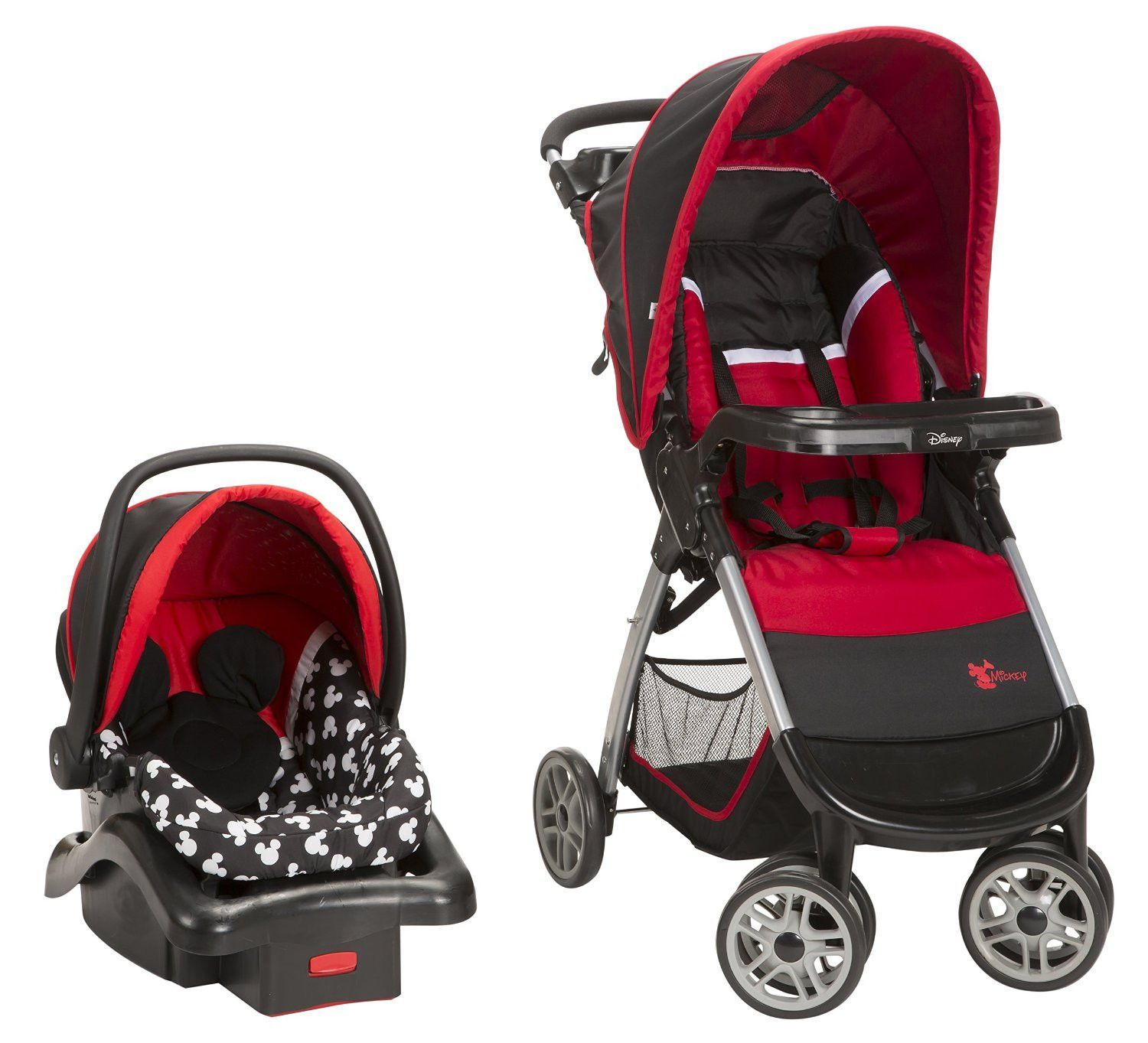 Bring a little magic to your strolls with the Disney Baby Amble Quad Travel System featuring