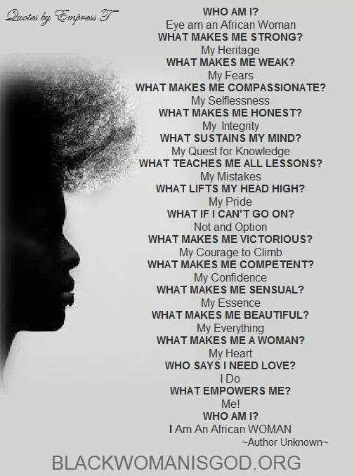 Black Woman. Strong Black Woman | Black women quotes, Black ...