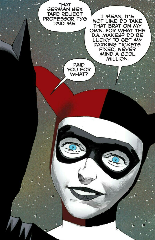 Batgirl and Harley Quinn