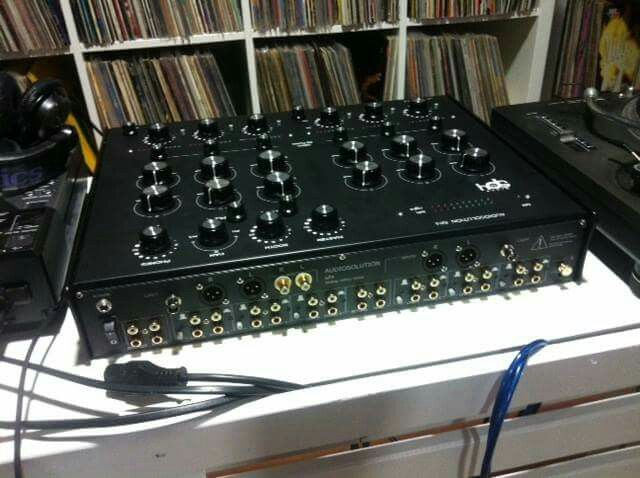 The Audio Solutions SP4 from the back.