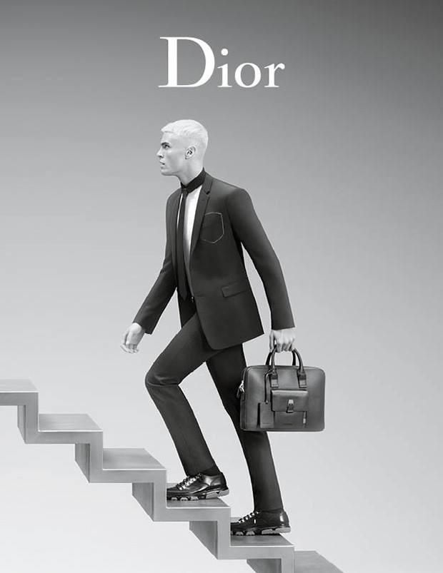 2a0c6413288 Dior Homme Reunites with Baptiste Giabiconi for Spring Ads