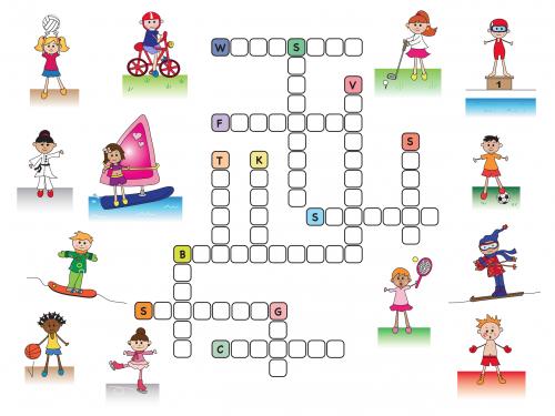 Sport Crossword Worksheet & Auspac Media The Feature People Jpg ...