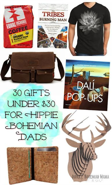 30 Gifts Under 30 For Hippie Bohemian Dads Cool Father S Day Christmas Gift Guide Hipster Gifts Hipster Christmas Gifts Christmas Gift Guide