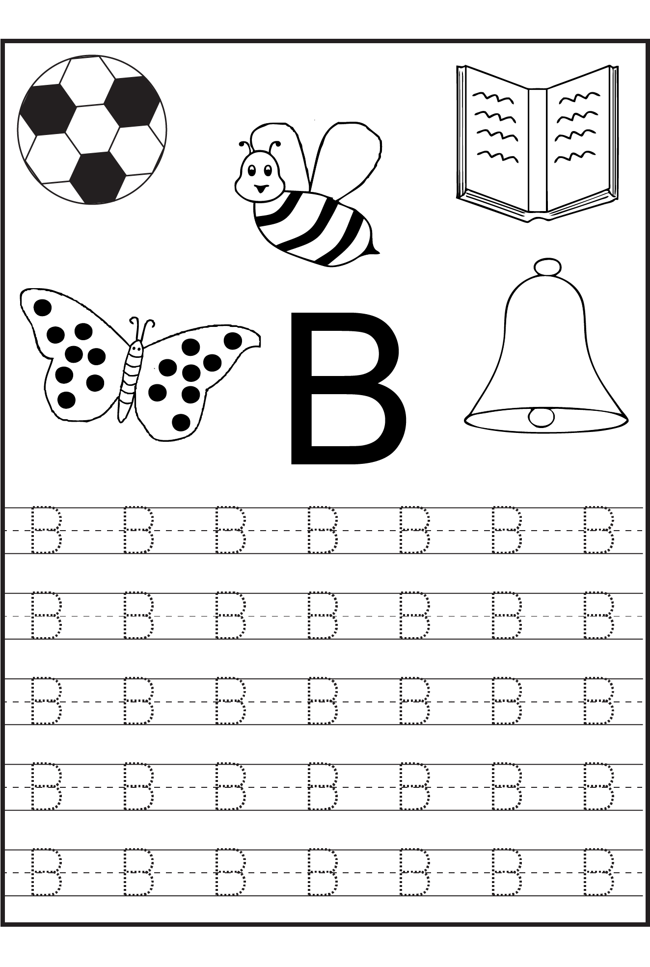 Alphabet Tracing Printables for Kids Alphabet and