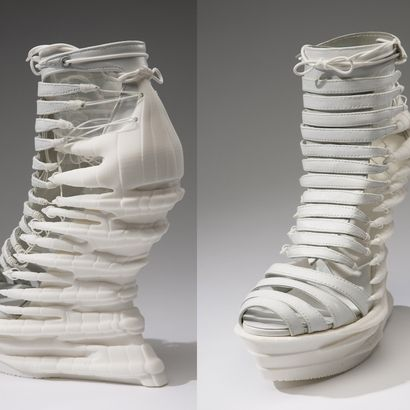 'Janina Alleyne - Exoskeleton Shoe': a featured design of the Sculpteo community | 3D printing