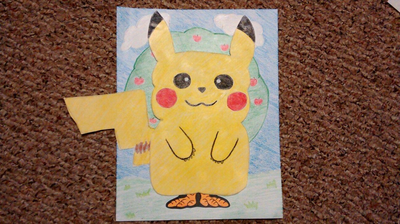 Turkey in Disguise Pokemon Pikachu | Turkey project ...