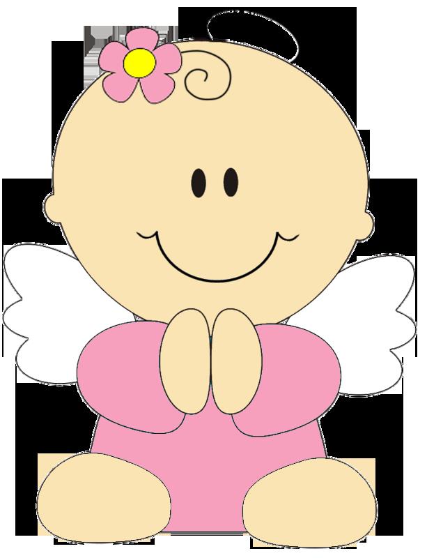 Angelitos para bautizo de niña - Imagui | moldes | Pinterest ...