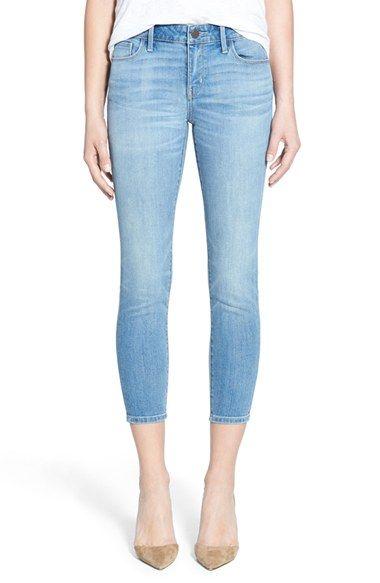 Treasure&Bond Crop Skinny Jeans (Rain Medium Vintage) available at #Nordstrom