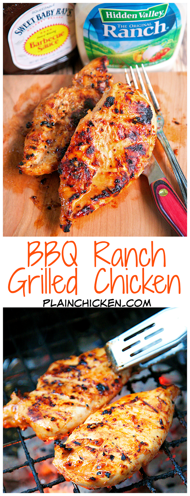Bbq Ranch Grilled Chicken Grilling Recipes Grilled Chicken Recipes Recipes