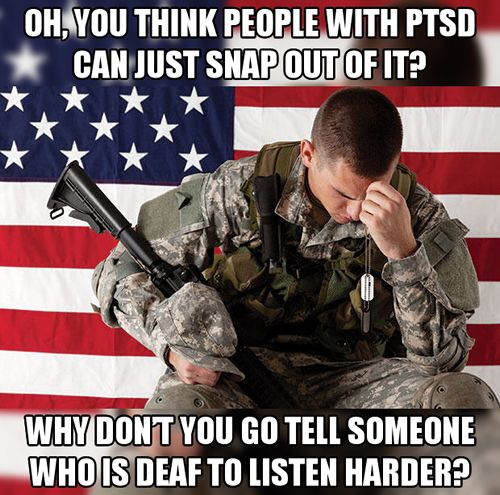 2. People with PTSD often feel unlovable