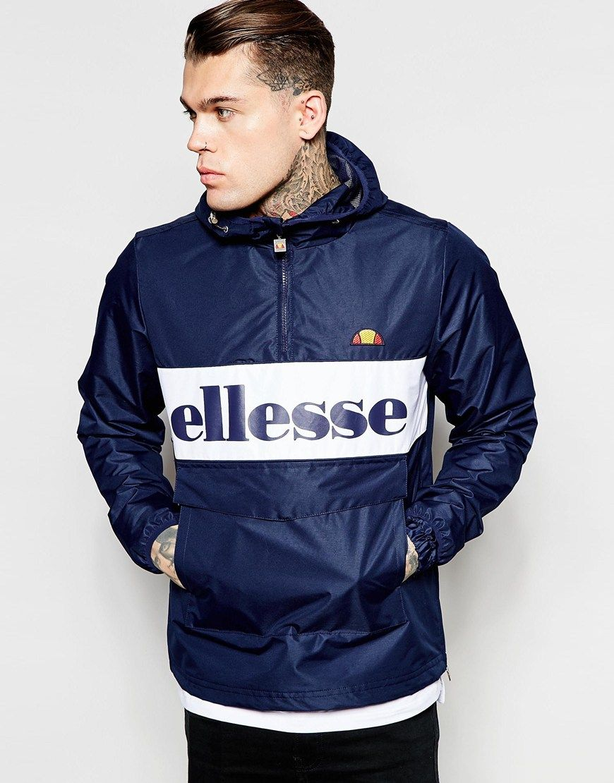 Ellesse Overhead Jacket With Large Logo