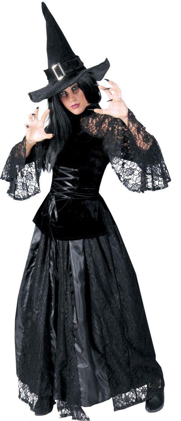 Ce déguisement de sorcière sera parfait pour effrayer vos amis à l occasion  d Halloween. 0304e4fc368e