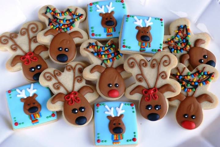 Make A Reindeer S Face Ears And Antlers Out Of A Gingerbread Man