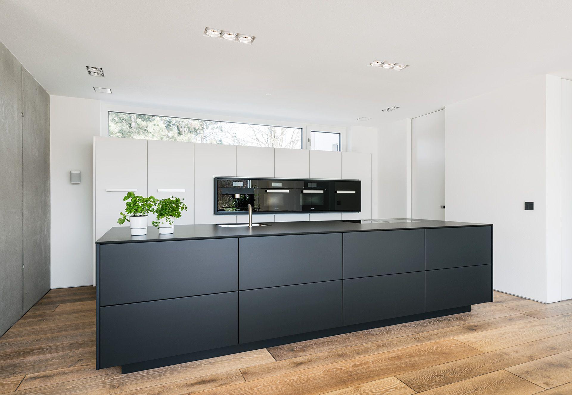 7 x 7 küchendesign küche schwarzweiß  kitchens  pinterest  kitchens haus and
