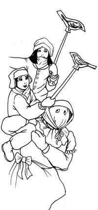 Mummers Coloring Pages