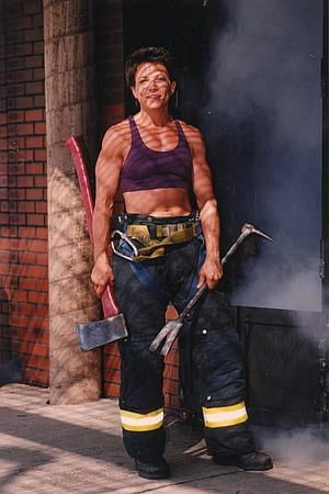 women Firefighter Rescue Images | New York's first female firefighter.I don't care what bitchomatic ...