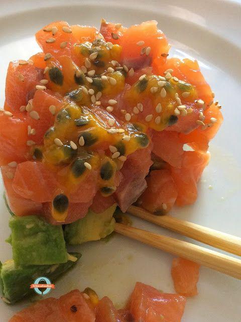 Tartare di salmone fresco e avocado