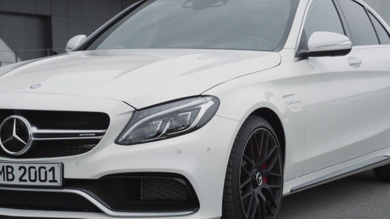 2015 Mercedes Benz C63 AMG S design
