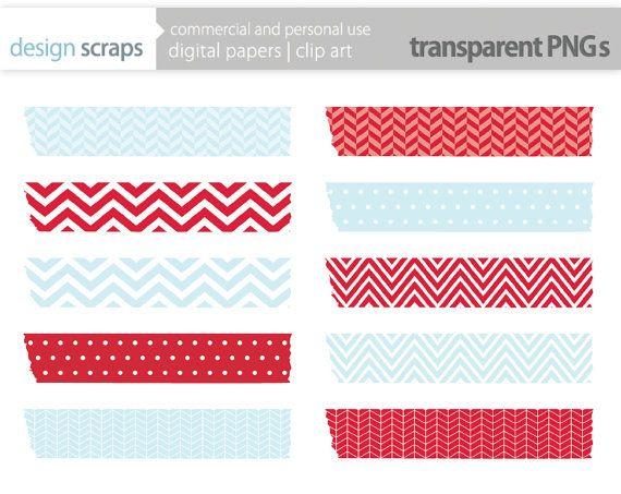 Washi Tape Digital Clip Art Digital Washi Tape By Designscraps 3 50 Clip Art Digital Clip Art Paper Clip Art