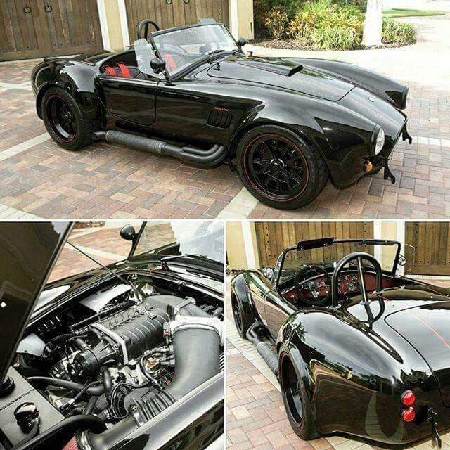 Rough Supercharged Classic Cobra