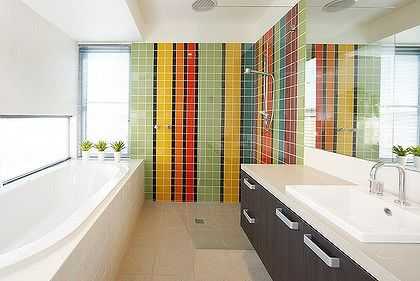 I Want To Retile My Bathroom In Bright Tiles Like This