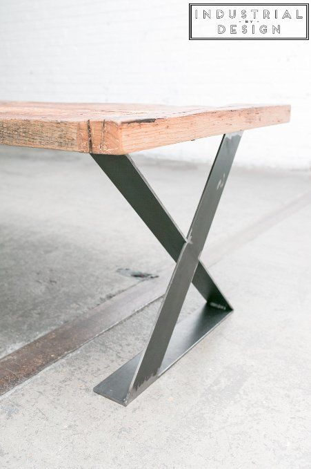 16 X Style Modern Frame Legs Raw Steel Set Of 2 Industrial Strength Table Legs 16 Height X 16 Len Coffee Table Legs Coffee Table Industrial Table Legs