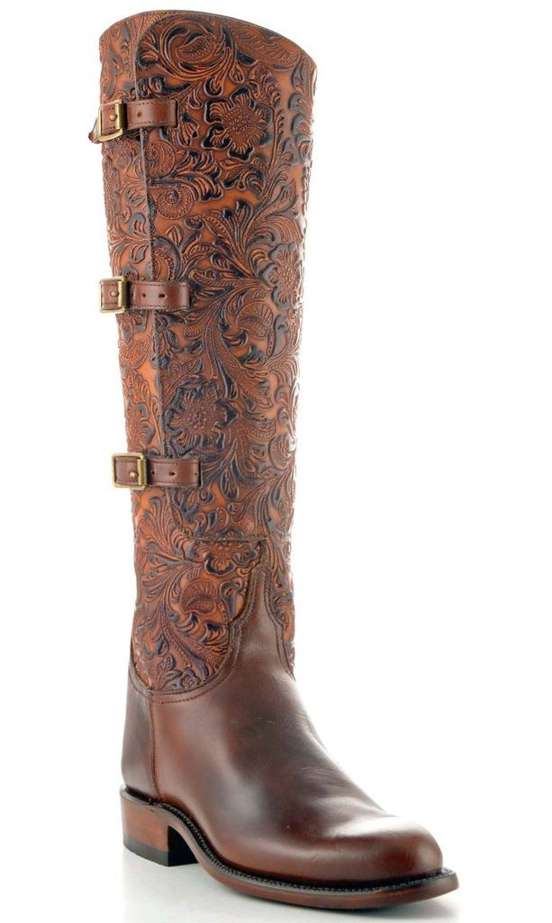 b5063932fb76 Lucchese boots tooled leather  these must be several thousand dollars...