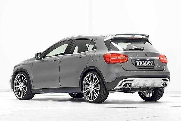 Brabus 2018 2019 Mercedes Benz Gla With Images Mercedes Benz