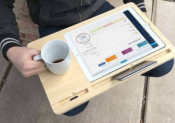 Iskelter Canvas Smart Desk Holds Your Ipad Pro Apple Pencil