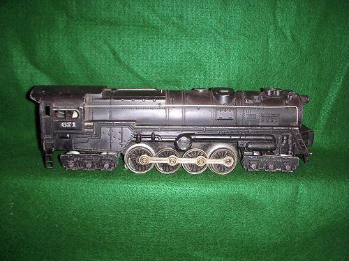 Vintage Lionel 671 Steam Turbine Engine Only Die Cast Runs
