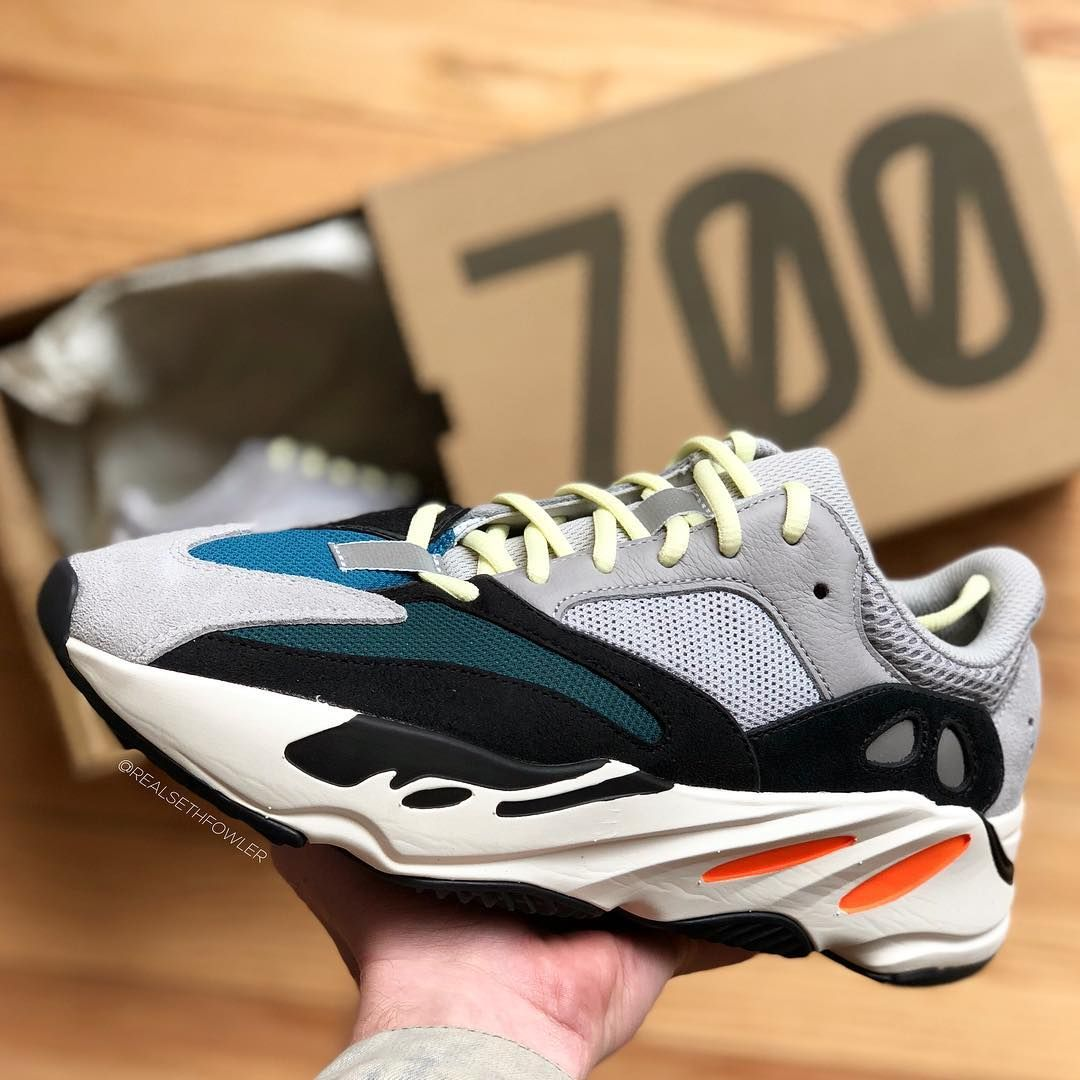 cb367eec12775 adidas YEEZY Wave Runner 700. Kanye West Flexes The adidas Originals Yeezy  Boost ...