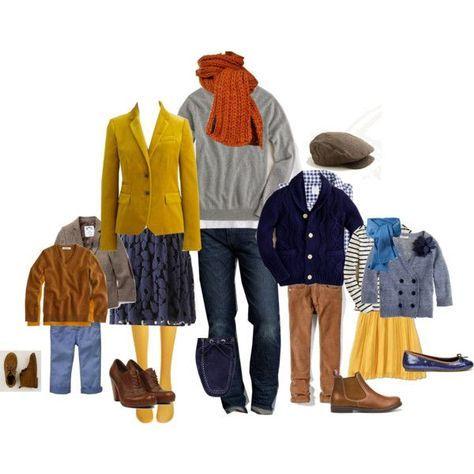 Как одеться на осеннюю фотосессию?   Одежда для всей семьи ...
