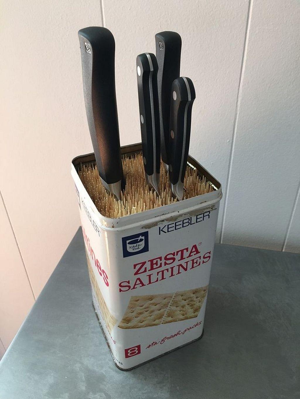 Küchenideen, um platz zu sparen  clever and cute diy cutlery storage solutions in   wohnung