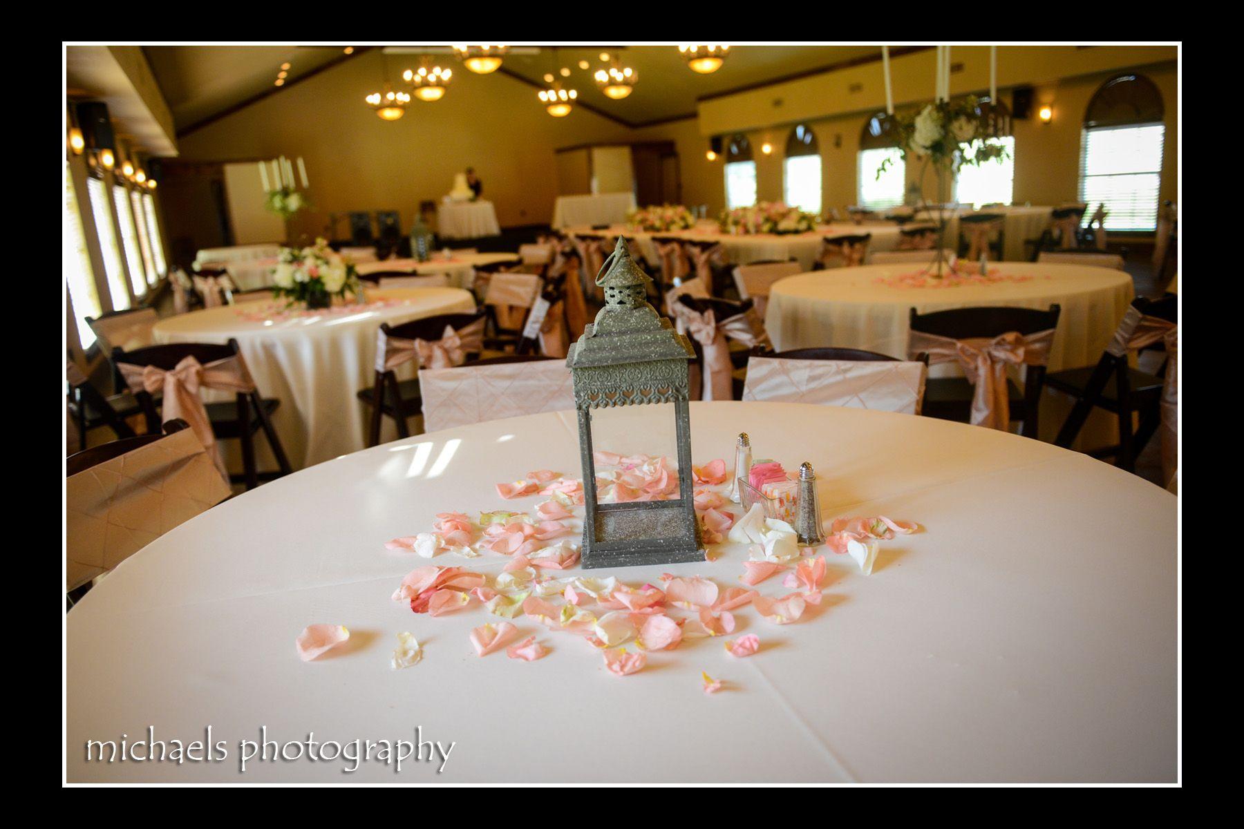 Decor By A 1 Wedding Party Rentals Wedding Table Decor Lantern Rose Petals Shabb Wedding Rentals Decor Shabby Chic Wedding Vintage Shabby Chic Wedding