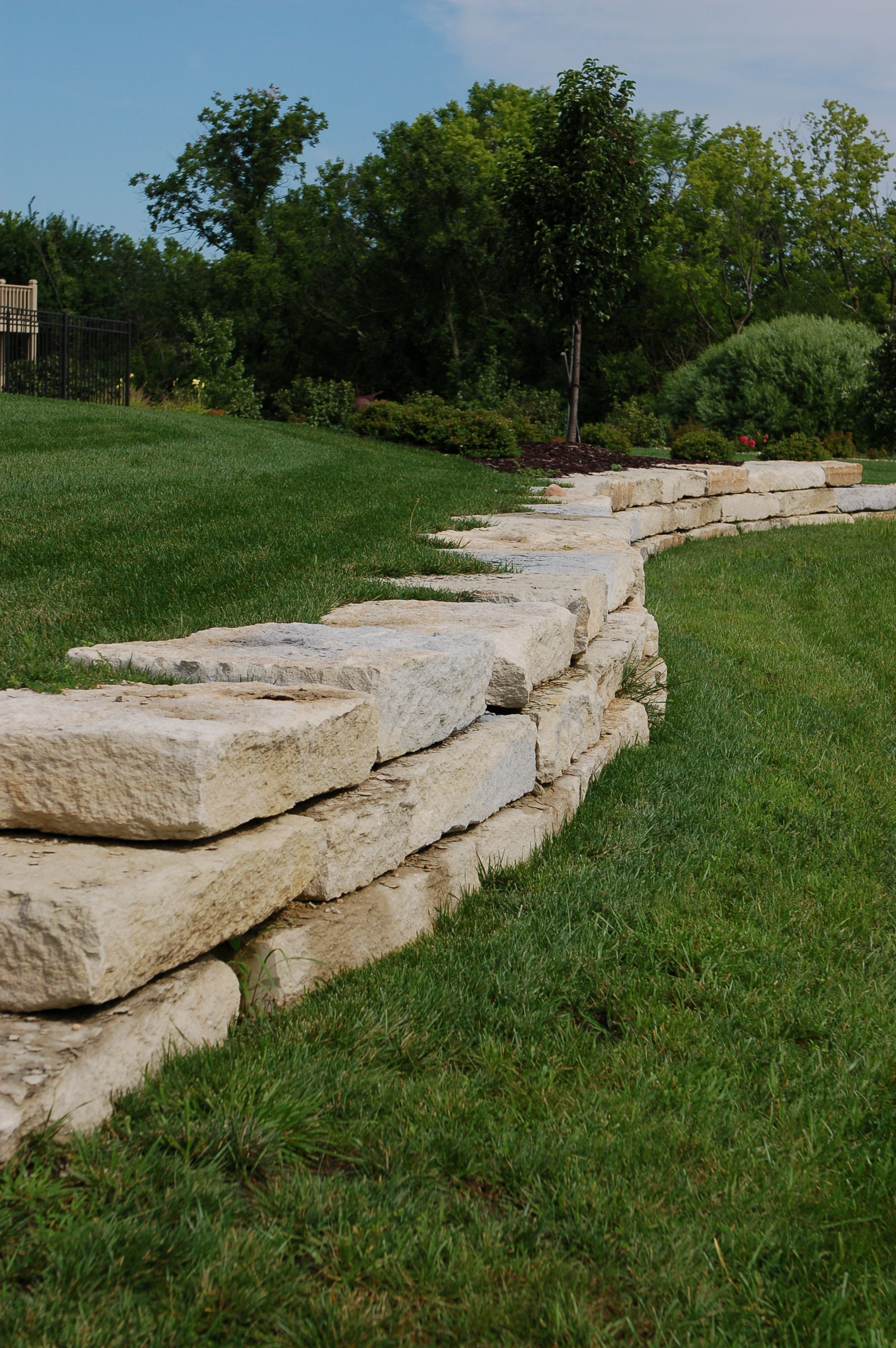 homepage in 2020 landscaping retaining walls sloped on stone wall id=27262