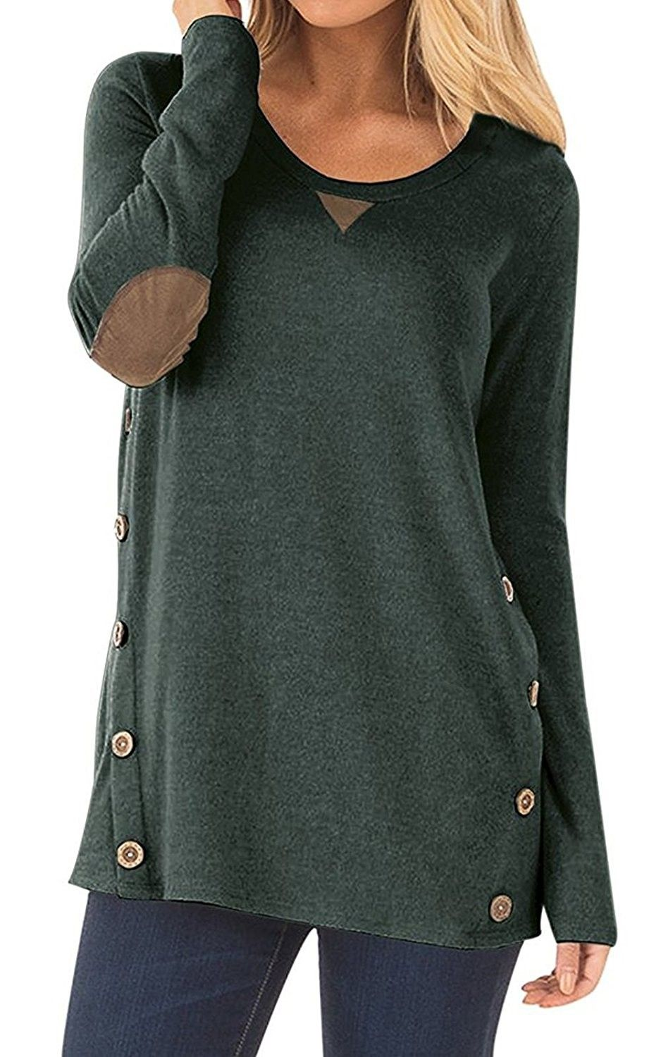 24f79259760 Tunic Blouse, Shirt Blouses, Tunic Tops, Casual Tops For Women, Blouses For