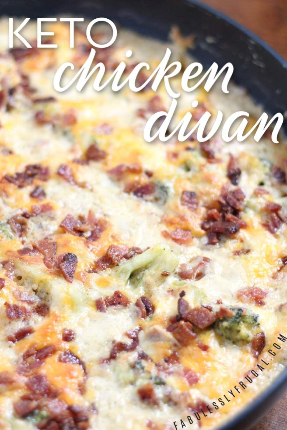 Photo of Quick Keto Chicken Recipe with Bacon and Ranch – Fabulessly Frugal