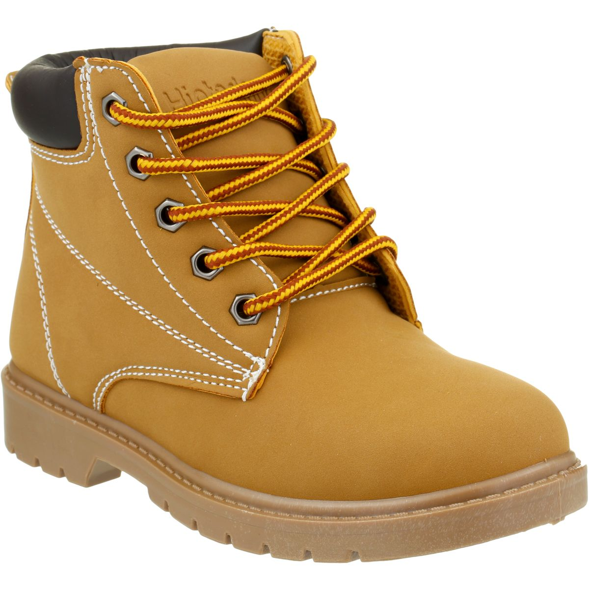 Hinterland Boys Lace Up Boot - Brown