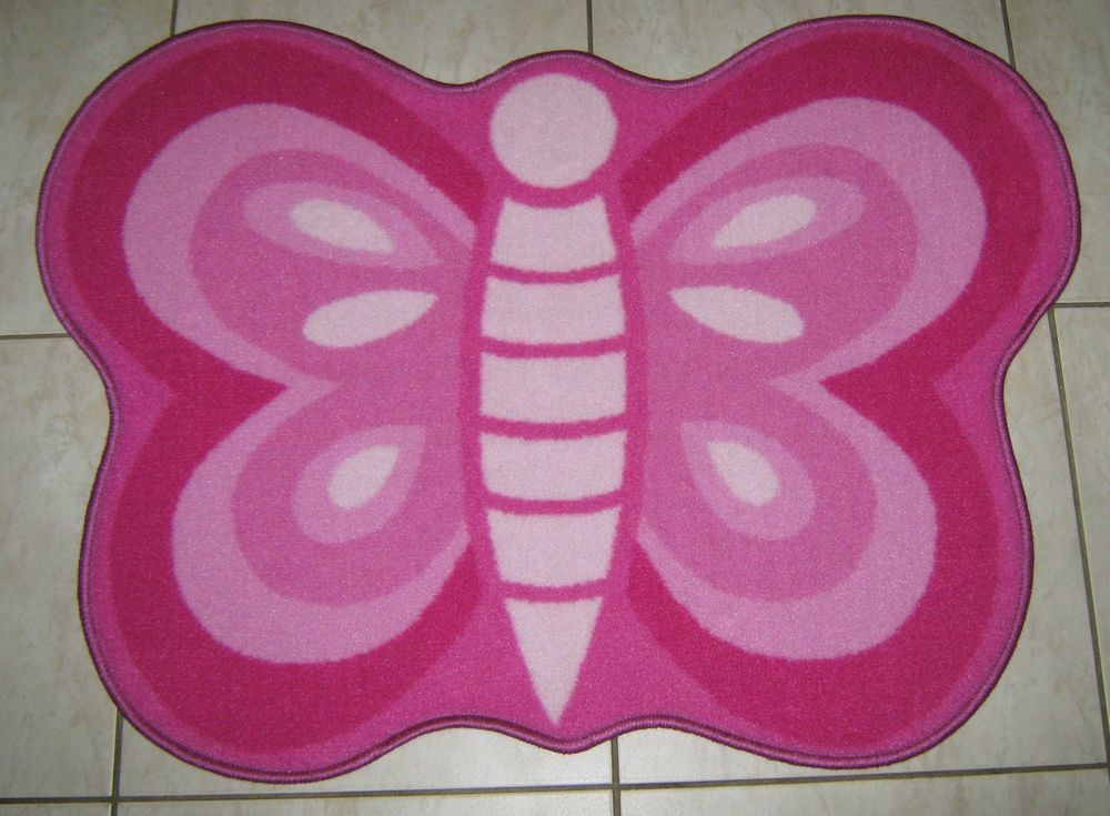 Kitchen, bedroom,dining room,anywhere you like. This rug is colour-fast,washable and non shedding. THIS BUTTERFLY SHAPE RUG WILL LOOK GREAT IN THE CHILDREN'S BEDROOM. WE ALSO HAVE OTHER KIDS PLAY MAT GO TO MY. | eBay!