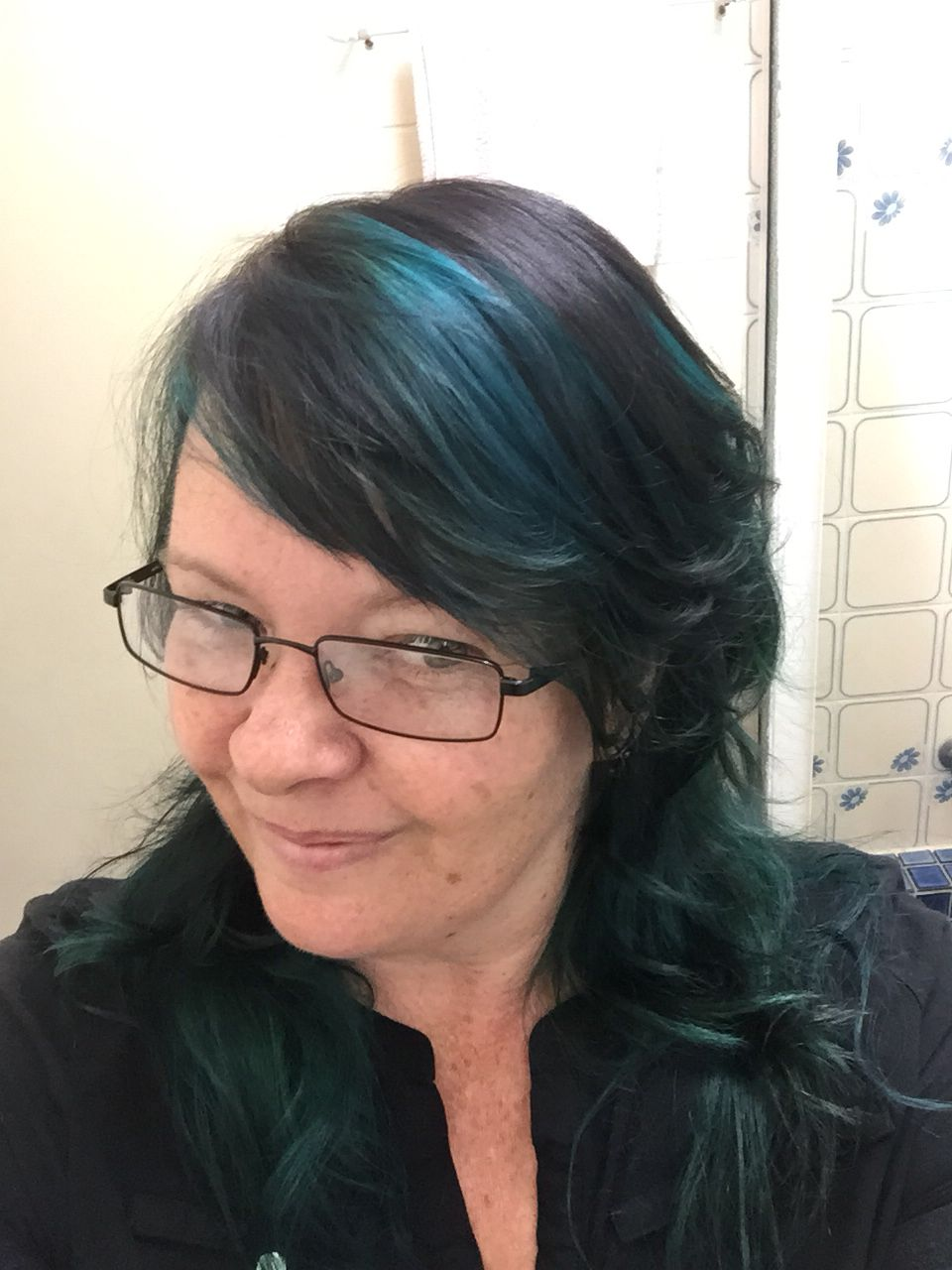 Dark Brown Base With Enchanted Green And Voodoo Blue Manic Panic