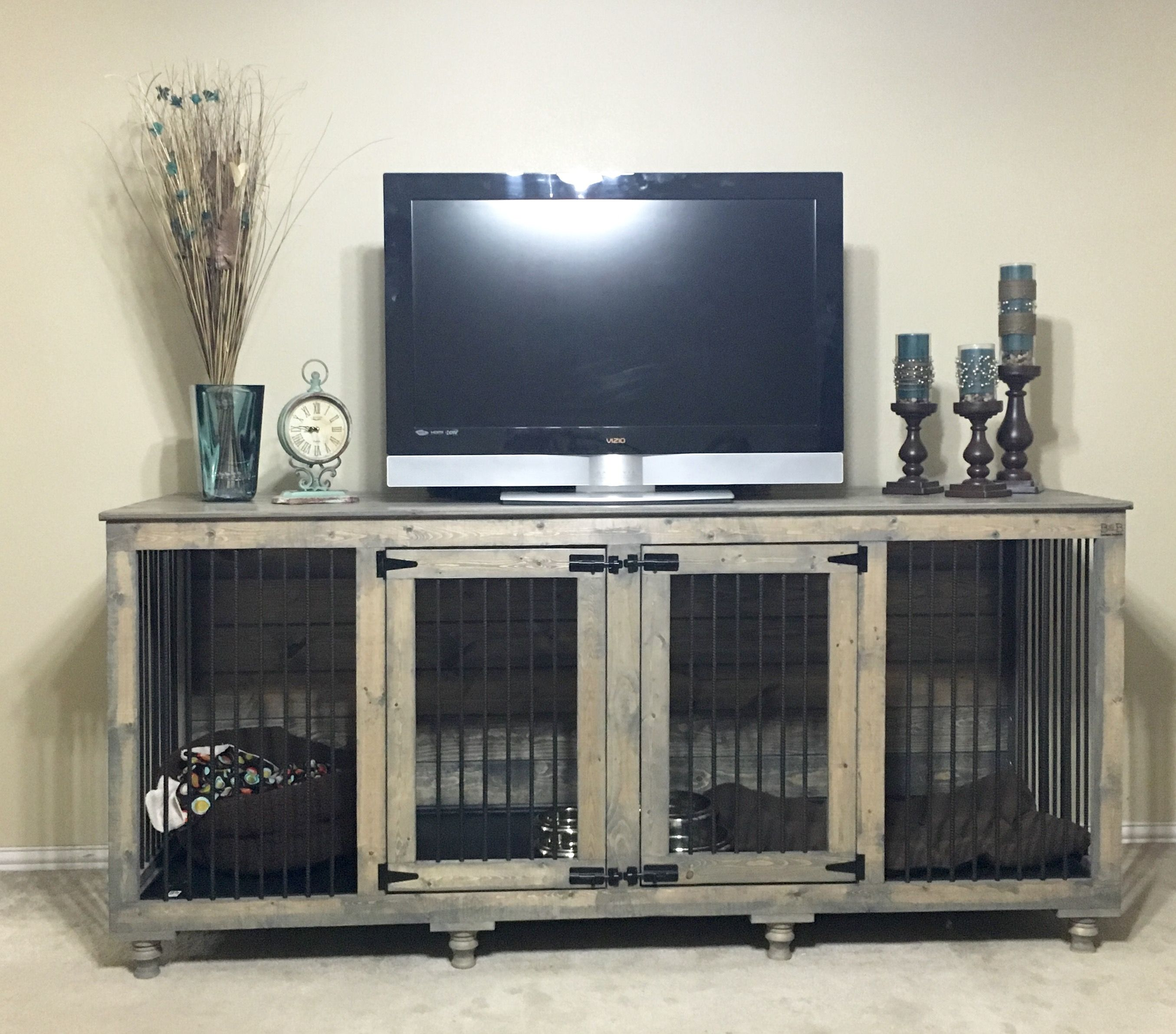 Double Doggie Den® | Doggies, Dog and Dog crate
