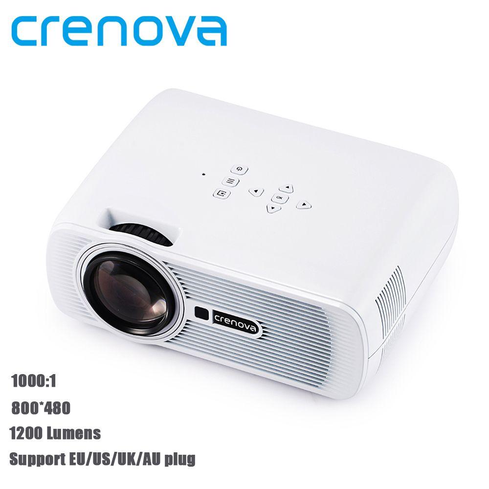 Crenova xpe460 led projector 10001 contrast support 1080p