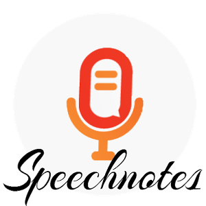 Speechnotes Speech To Text App, Texts, Voice type