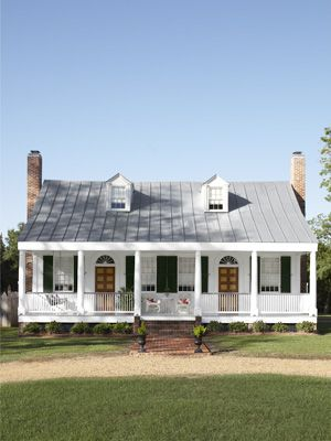 Southern Plantation Cottage  This is exactly what I want to