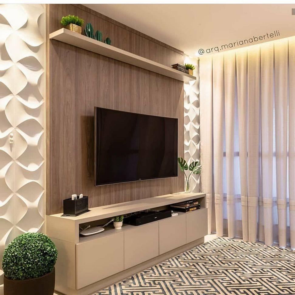 70 Amazing Modern Tv Wall Decor Idea For Living Room Design Look Luxury Living Room Decor Apartment Trendy Living Rooms Living Room Tv Unit Designs #tv #wall #decoration #for #living #room