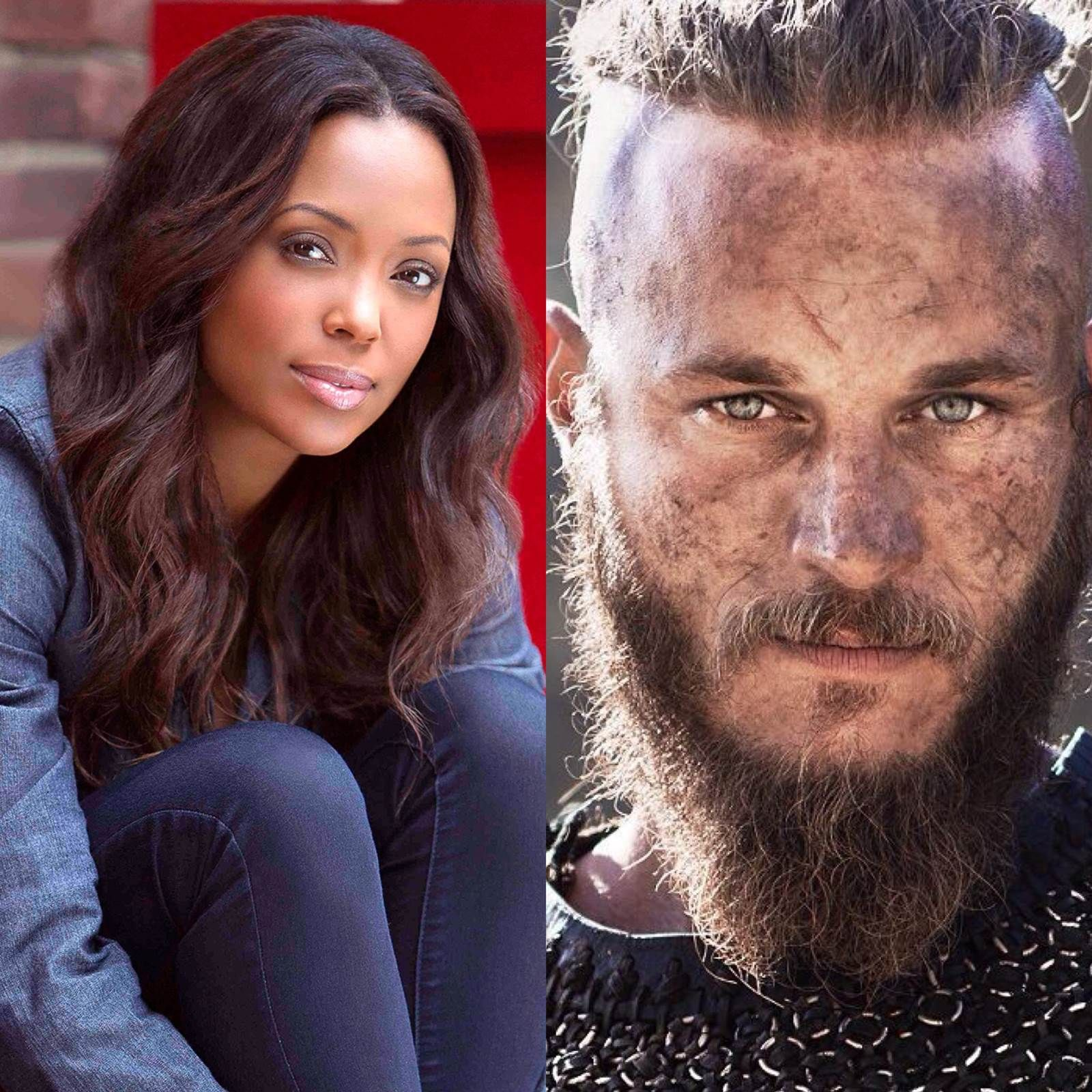 To Be An Actor According to Aisha Tyler and Travis Fimmel Aisha