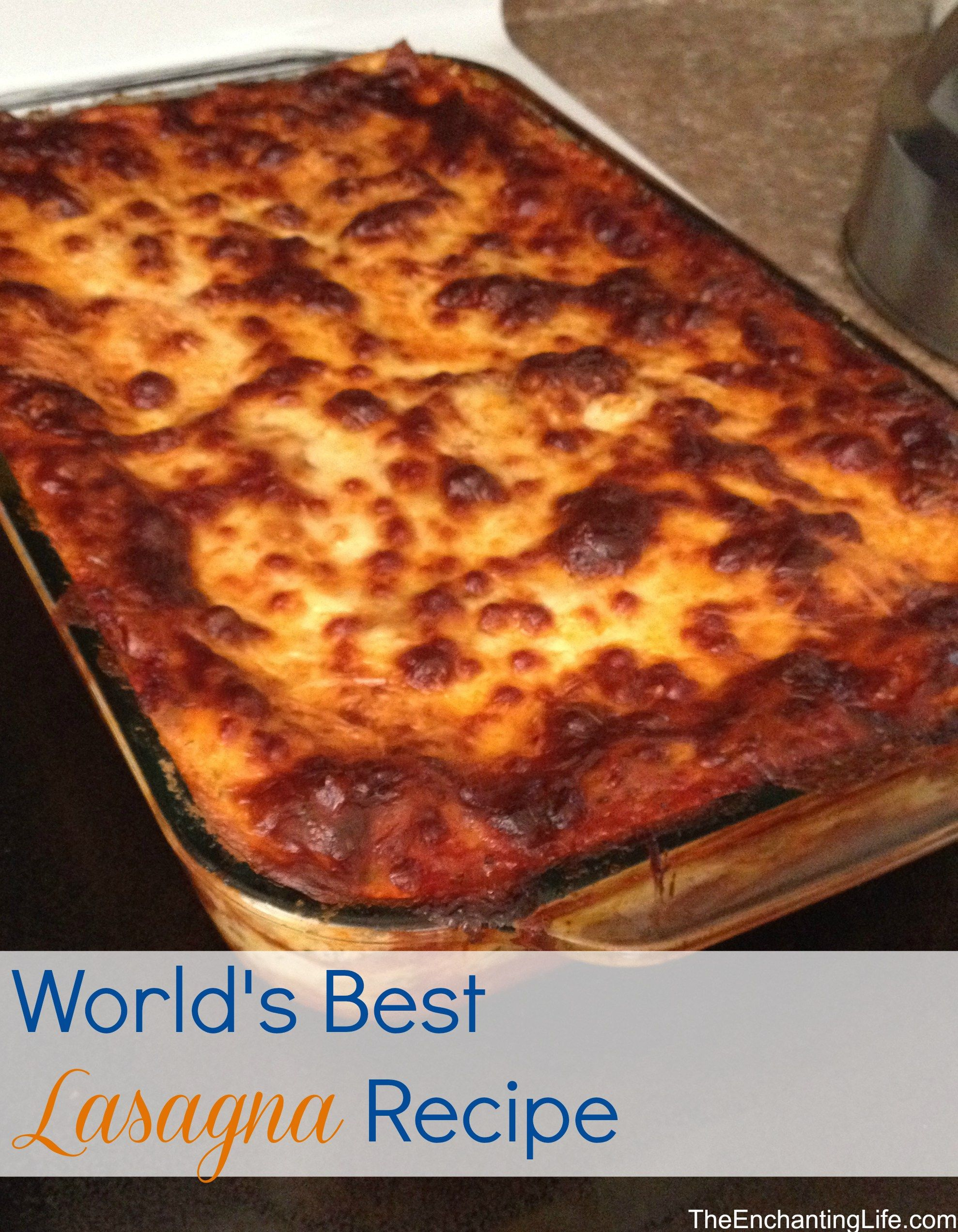 how to make the best lasagna with meat