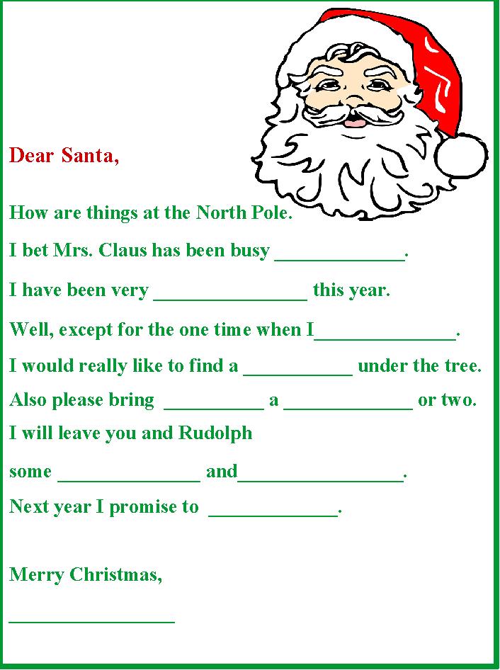 Christmas party gamenta letter christmas pinterest santa letter spiritdancerdesigns Image collections